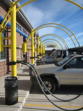 Breeze Through Car Wash with Beautiful Electrical Installation