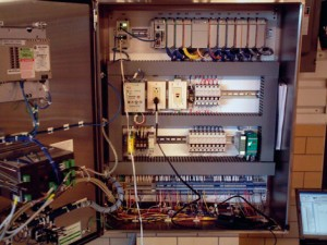 Odell Electrical Panel and wiring is a work of art by an experienced electrical contractor.