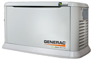 Generator - Generac expertly installed by electrician.