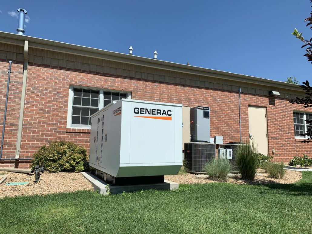 severance backup generator